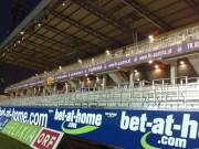 Als Subunternehmen waren wir an dem Ausbau des Horrstadions in Favoriten beteiligt.